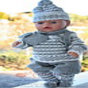DollKnittingPatterns 0014D TRULS og TRINE - Genser, Bukse, Strømper, Lue, Votter, Skjerf og Ryggsekk-(Norsk) | Crafting | Knitting | Other