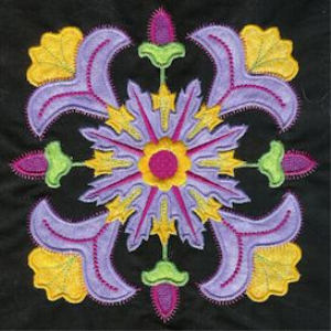 fantasy applique machine embroidery collection dst