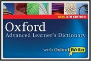 oxford advanced learners dictionary 8th edition with iwriter