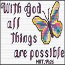 QS With God All Things Possible | Crafting | Cross-Stitch | Other