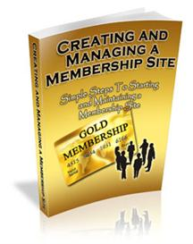 creating and managing a membership website - - - master resale