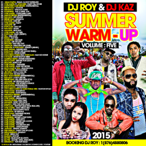dj roy & dj kaz summer warm-up dancehall mix vol.5 2015