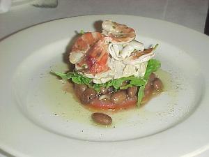 borlotti beans salad