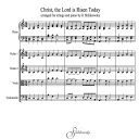 Christ The Lord Has Risen, Today | eBooks | Sheet Music
