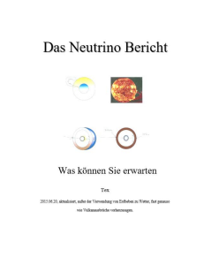 Neutrino Bericht Deutsche Version, Google Maschine tranlation . | eBooks | Science
