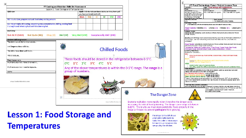 First Additional product image for - L1 Food Storage and Temperatures Solo Lesson Pack