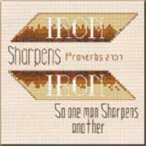 iron sharpens - proverbs 27:17 chart