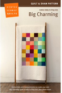 Big Charming pattern PDF | Crafting | Sewing | Quilting