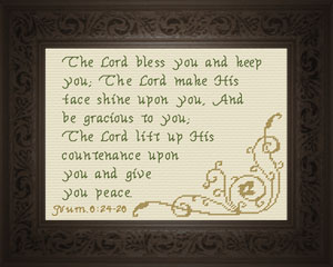 Bless You and Keep You | Crafting | Cross-Stitch | Other