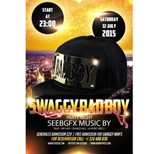 swaggy badboy flyers seebgfx psd 2015