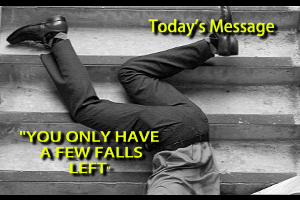 You Only Have A Few Falls Left | Audio Books | Religion and Spirituality