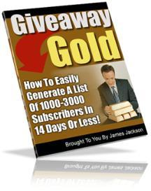 Giveaway Gold- Generate A List Of 1,000 to 3,000 in 14 Days | eBooks | Internet