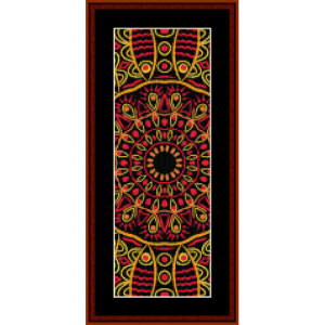 Fractal 504 Bookmark cross stitch pattern by Cross Stitch Collectibles | Crafting | Cross-Stitch | Miscellaneous