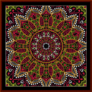 Fractal 500 cross stitch pattern by Cross Stitch Collectibles   Crafting   Cross-Stitch   Wall Hangings