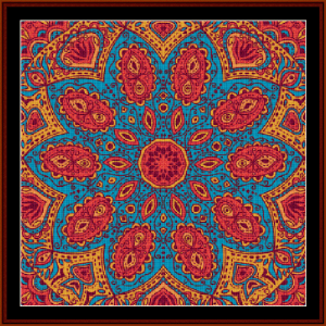 Fractal 502 cross stitch pattern by Cross Stitch Collectibles | Crafting | Cross-Stitch | Wall Hangings