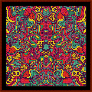 Fractal 503 cross stitch pattern by Cross Stitch Collectibles | Crafting | Cross-Stitch | Wall Hangings