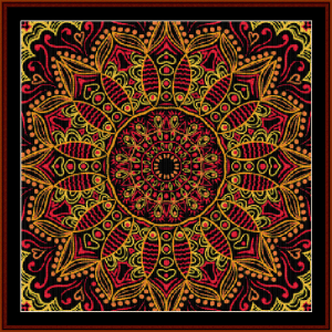 Fractal 504 cross stitch pattern by Cross Stitch Collectibles | Crafting | Cross-Stitch | Wall Hangings