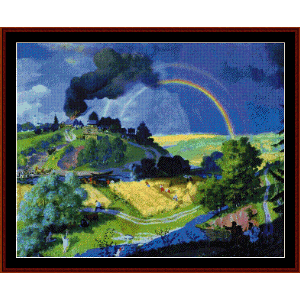 After the Storm - Kustodiev cross stitch pattern by Cross Stitch Collectibles | Crafting | Cross-Stitch | Other