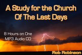The Church of the Last Days on ONE 8 Hour Audio CD | Audio Books | Religion and Spirituality