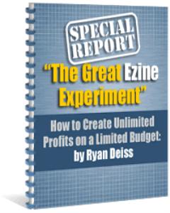 the great ezine experiment