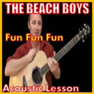 Learn to play Fun Fun Fun by The Beach Boys | Movies and Videos | Educational