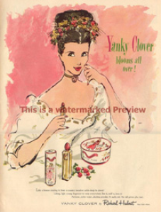 royalty free vintage beauty ad