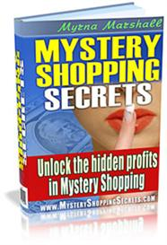 Mystery Shopping Secrets - Get Paid to Shop! With Master Resale Rights | eBooks | Business and Money