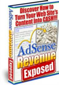 Adsense Revenue Exposed With Master Resale Rights | eBooks | Business and Money
