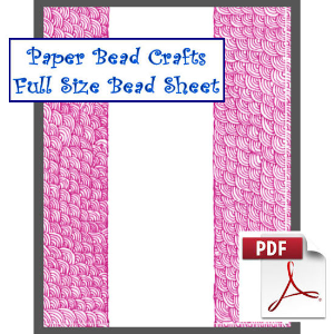 pink bliss bead sheet