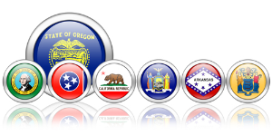 us state flag orbs icon package [50 icons]