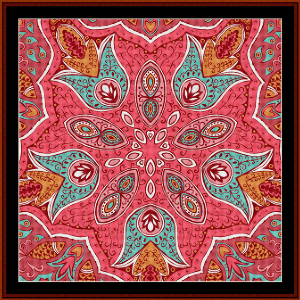 Fractal 509 cross stitch pattern by Cross Stitch Collectibles | Crafting | Cross-Stitch | Wall Hangings