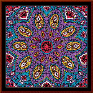 Fractal 510 cross stitch pattern by Cross Stitch Collectibles | Crafting | Cross-Stitch | Wall Hangings