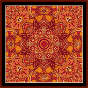 Fractal 511 cross stitch pattern by Cross Stitch Collectibles | Crafting | Cross-Stitch | Wall Hangings