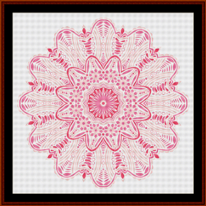Fractal 514 cross stitch pattern by Cross Stitch Collectibles | Crafting | Cross-Stitch | Wall Hangings