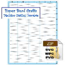 Paper Bead Machine Cutting Template, 5/8 x 1/32 x 8-1/2 Strips | Crafting | Paper Crafting | Other