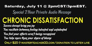 Chronic Dissatisifaction | Audio Books | Religion and Spirituality