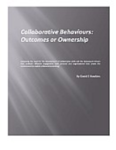 Collaborative Behaviours: Outcomes or Ownership | Documents and Forms | Business