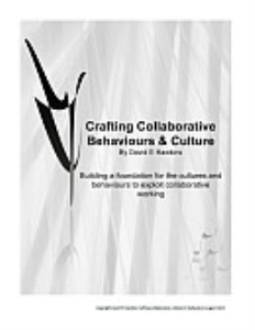 crafting collaborative behaviours & culture