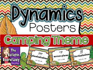 Dynamics Posters CAMPING Theme | Other Files | Everything Else