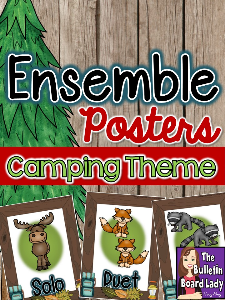 Camping Ensemble Posters | Other Files | Everything Else