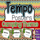 Tempo Posters CAMPING Theme | Other Files | Everything Else