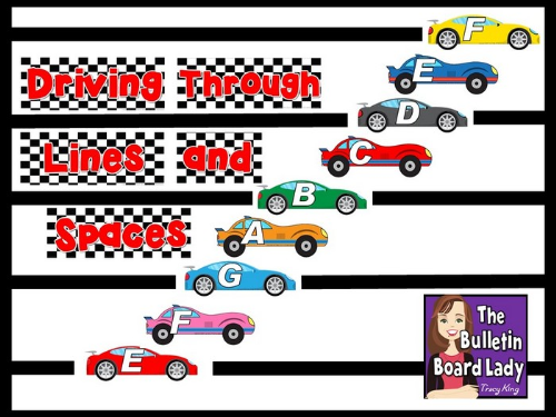First Additional product image for - Driving Through Lines and Space Bulletin Board