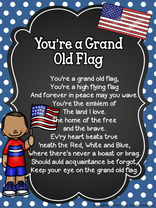 First Additional product image for - Patriotic Songs Posters and Writing Prompts