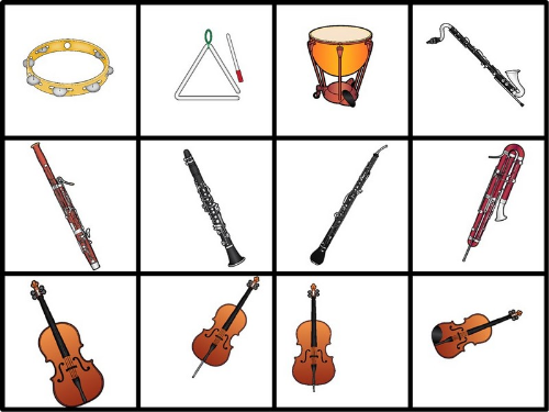 First Additional product image for - Instrument Matching Game