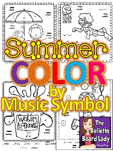 Summer Color by Note | Other Files | Everything Else