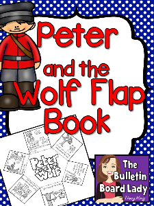 Peter and the Wolf Flap Book | Other Files | Everything Else