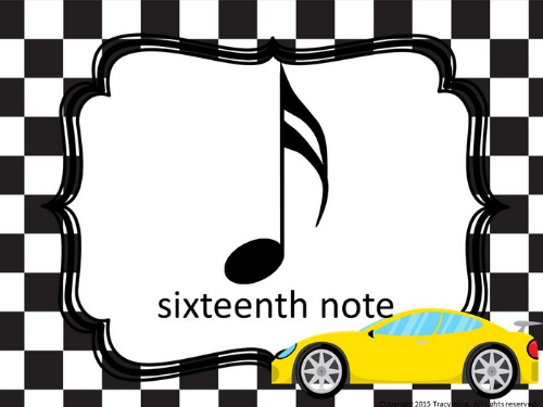 Second Additional product image for - Music Symbol Posters-Racing Theme