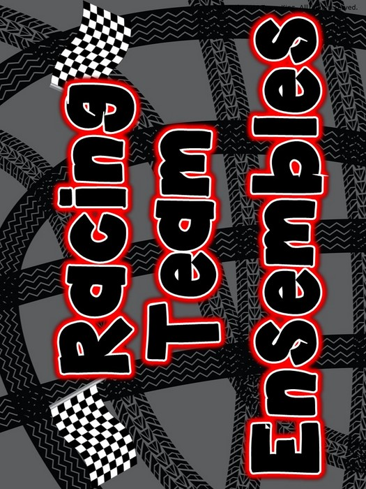 Third Additional product image for - Racing Ensemble Posters