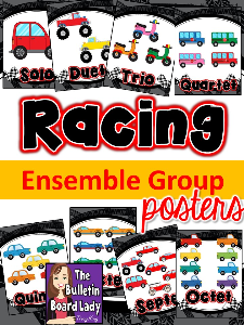 racing ensemble posters