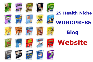 25 profitable health niche wordpress blog website